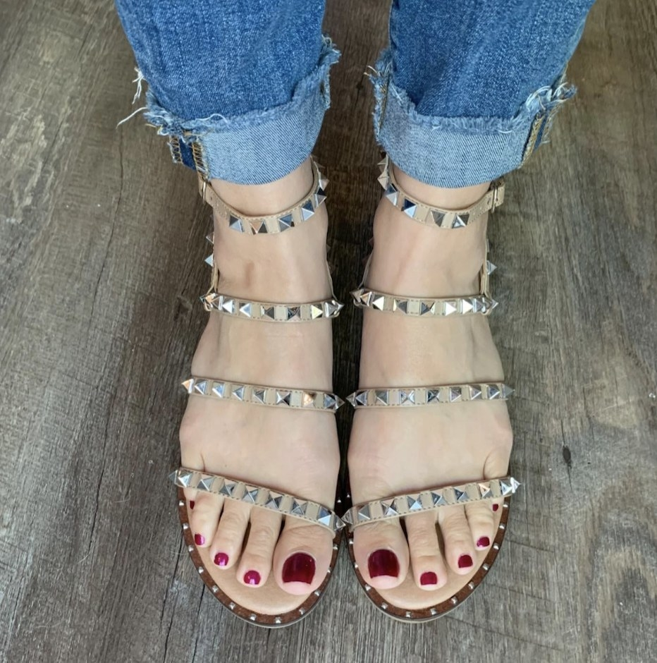 The studded flats