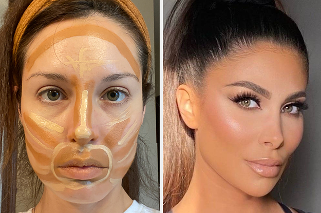 People Are Contouring Their Faces In The Weirdest Ways And It's Actually Turning Out Beautiful — Here's What An Expert Says You Need To Know