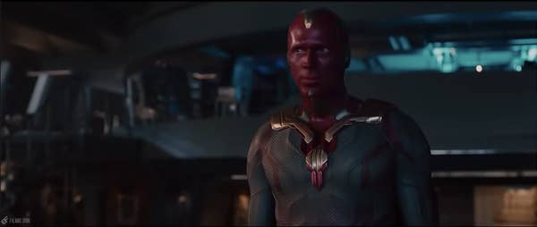 Vision in his first appearance