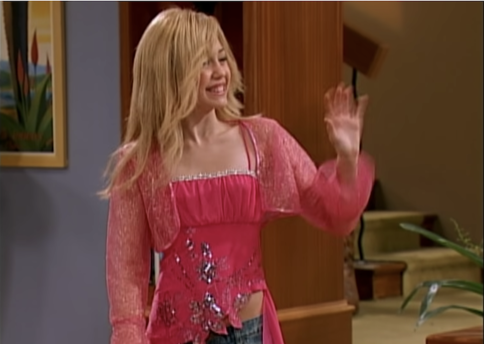 Hannah Montana in her first appearance