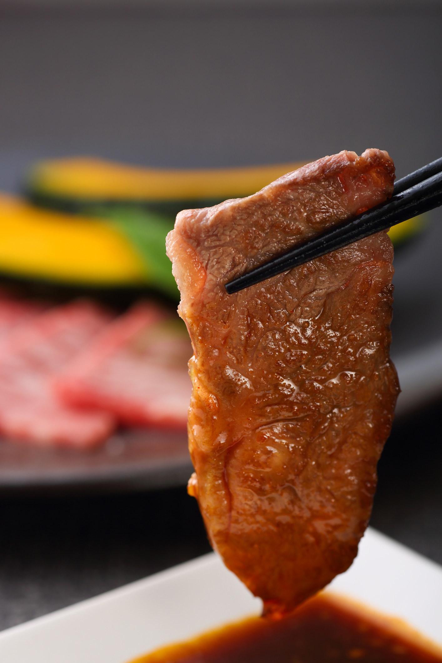 Korean BBQ ribs aka galbi.