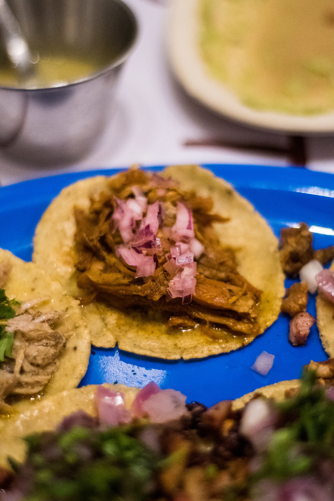 Conchita pibil tacos.