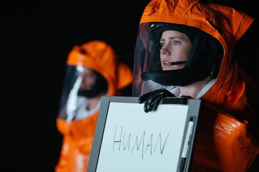 Amy Adams in Arrival
