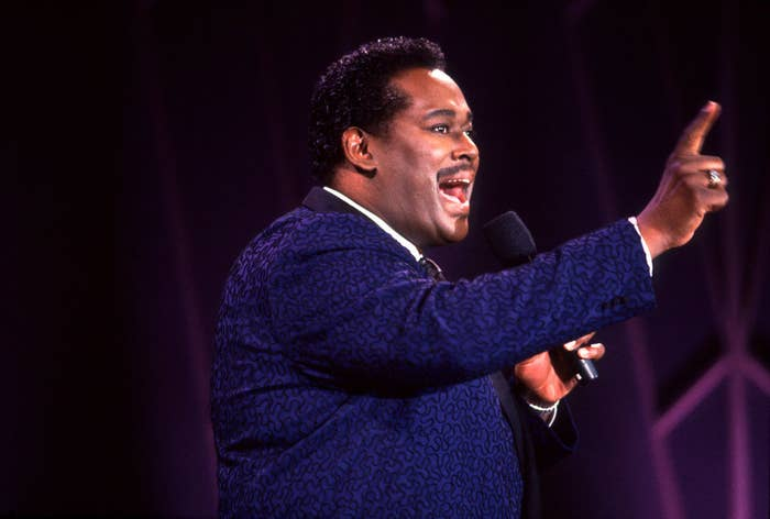 Luther Vandross singing on the Oprah Winfrey Show in 1989