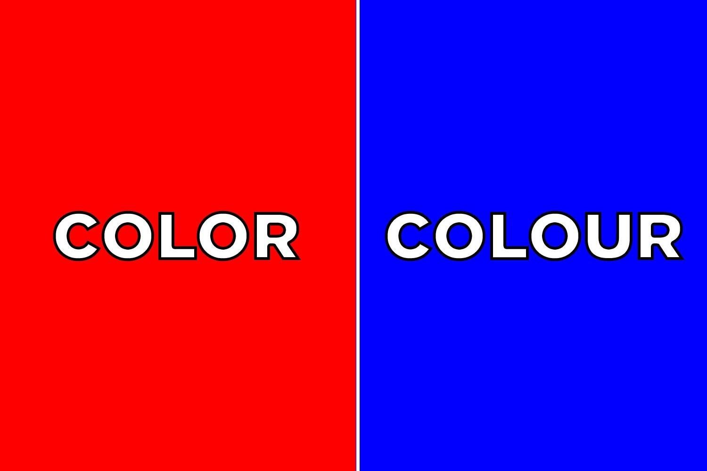 Color vs colour