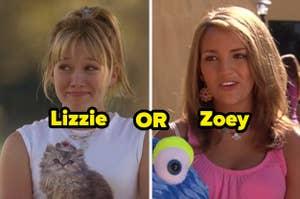 你喜欢Lizzie McGuire,从Zoey 101比较好或Zoey