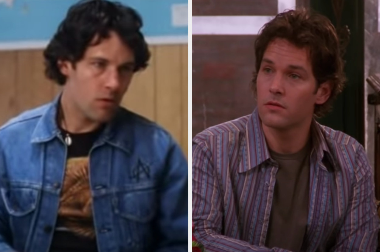 Paul Rudd in Wet Hot American Summer and Friends