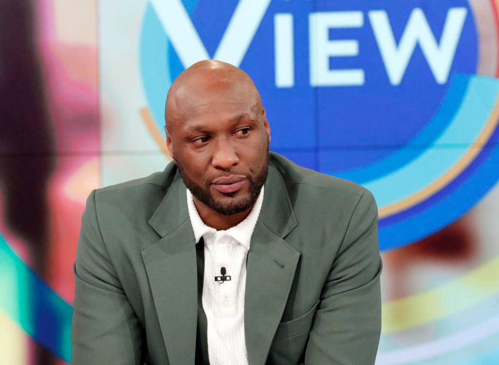 Lamar Odom on The View