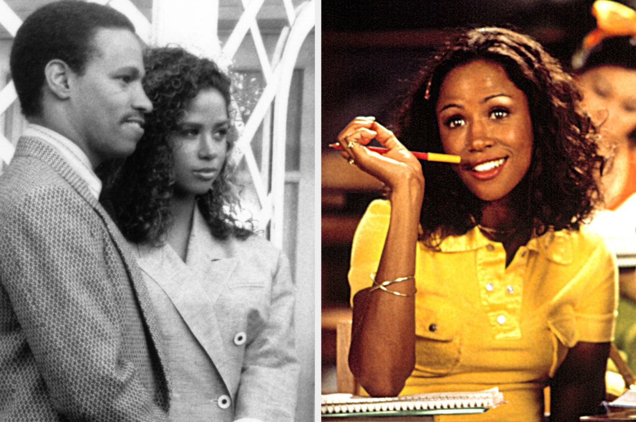Luther and Penny in St. Elsewhere, and Stacey Dash as Dionne in the Clueless TV show