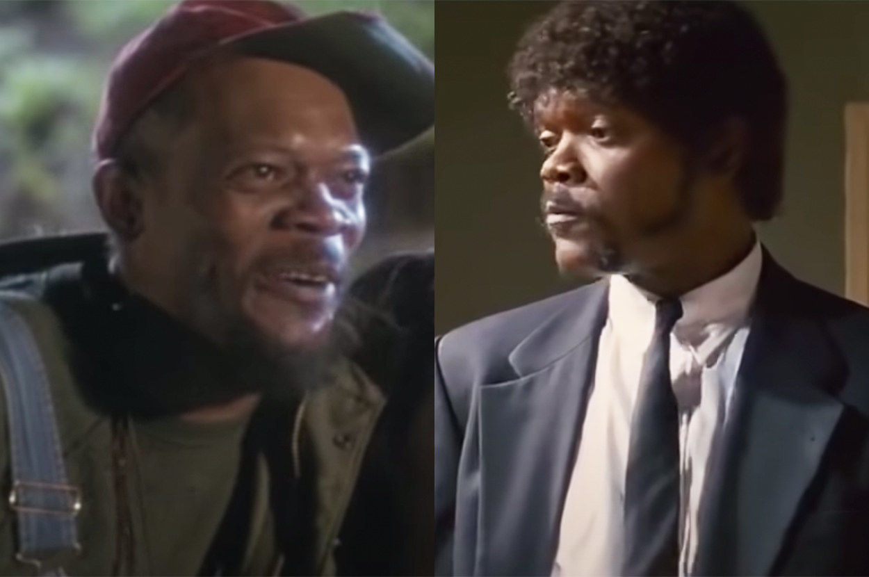 You may recognize him as Nick Fury in the MCU