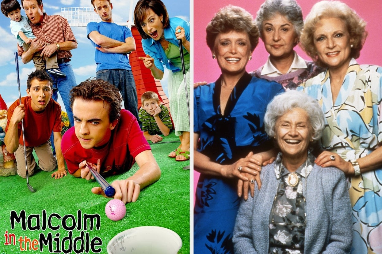 """""""Malcolm in the Middle"""" and """"Golden Girls"""""""