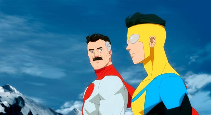 Invincible and his father