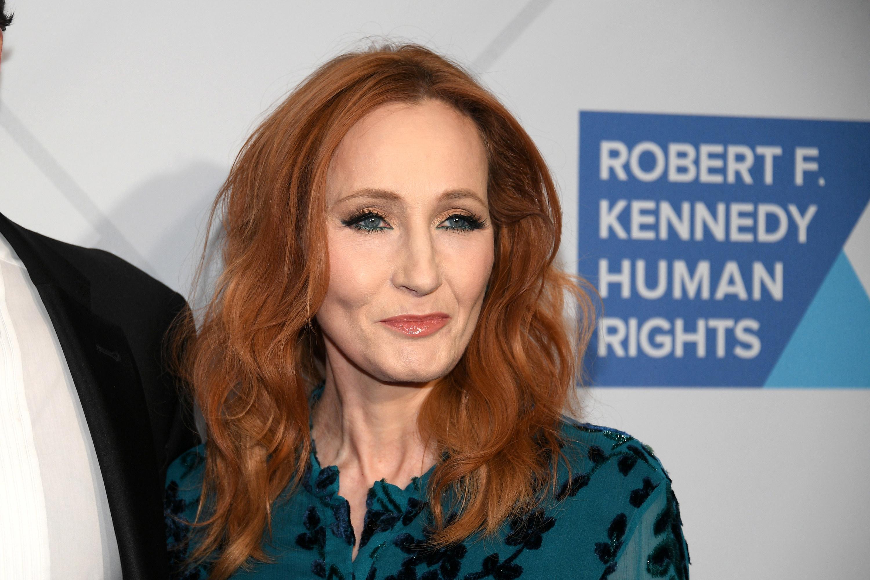 J.K. Rowling at an RFK Human Rights event