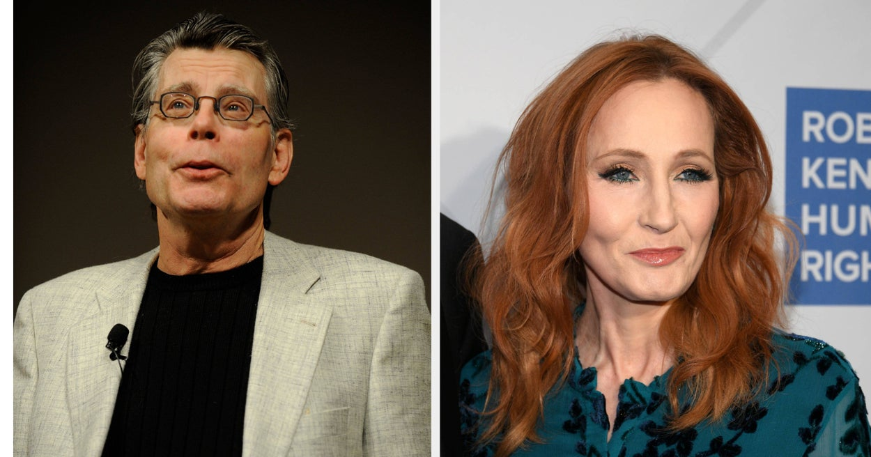 Stephen King Explained How J.K. Rowling Blocked Him After He Defended Trans Women
