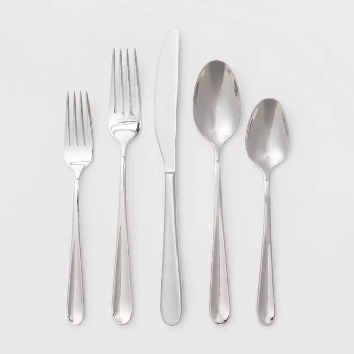 The stainless steel set