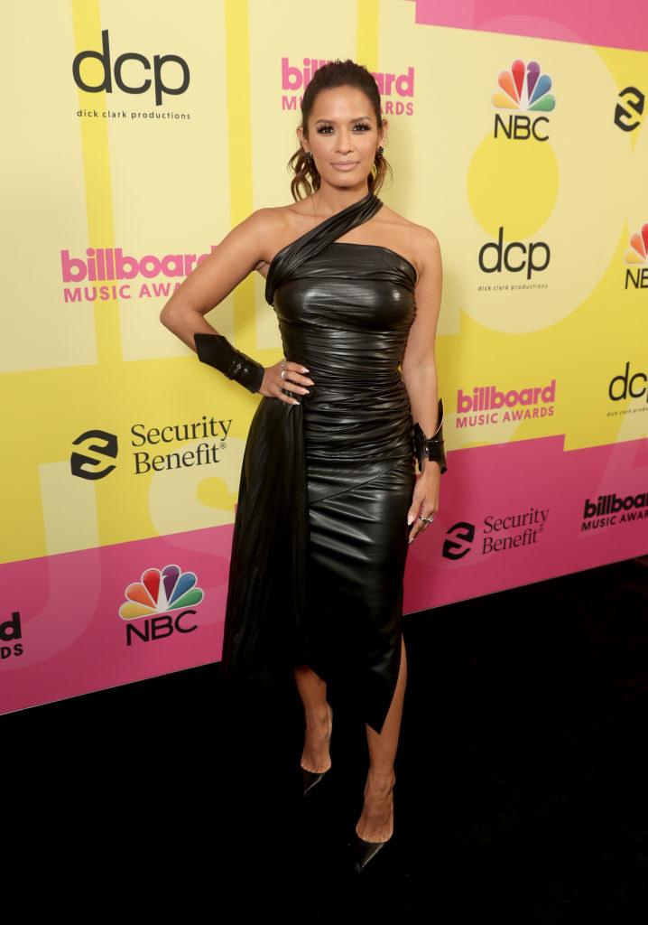 Rocsi Diaz arrives to the 2021 Billboard Music Awards