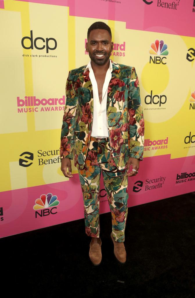 Justin Sylvester arrives to the 2021 Billboard Music Awards