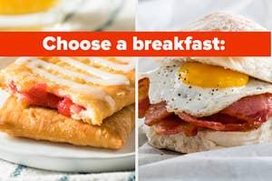 choose a breakfast