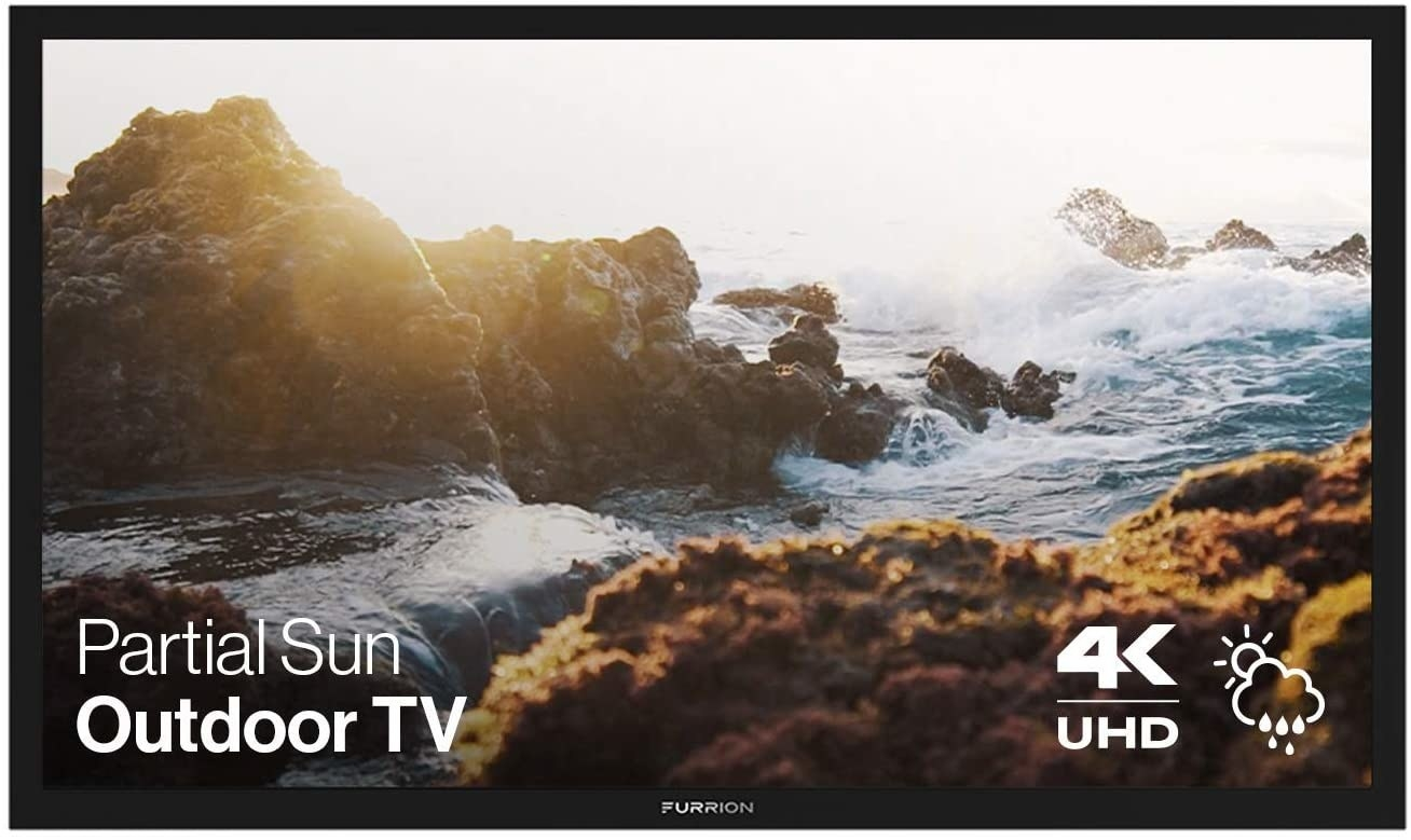 the 4K TV with a screen saver