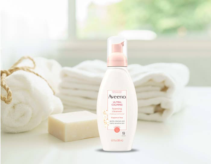 the bottle of cleanser
