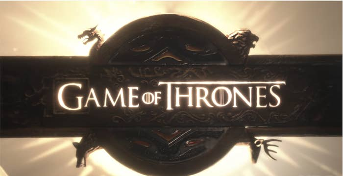 the game of thrones opening title