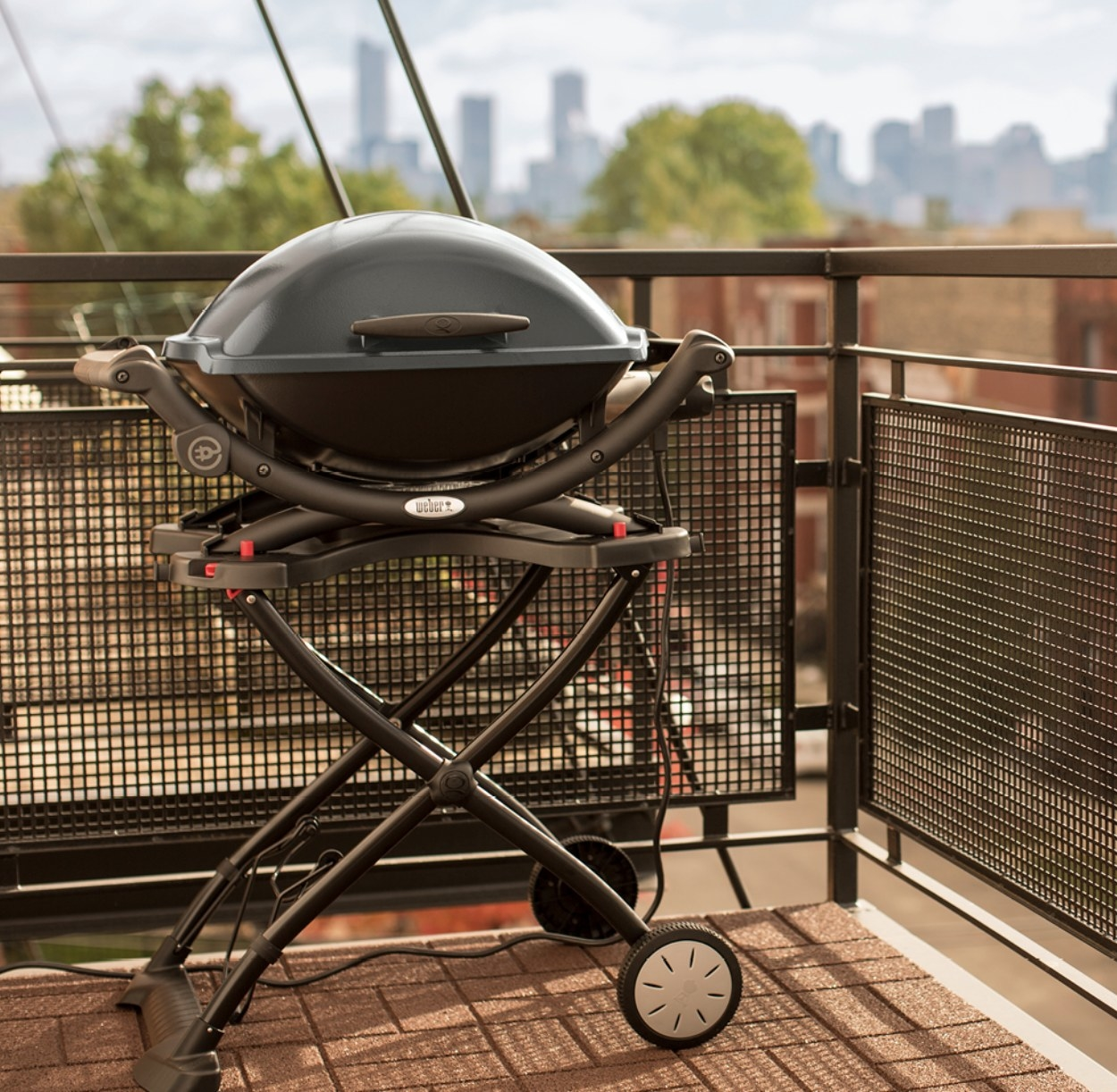 The electric grill