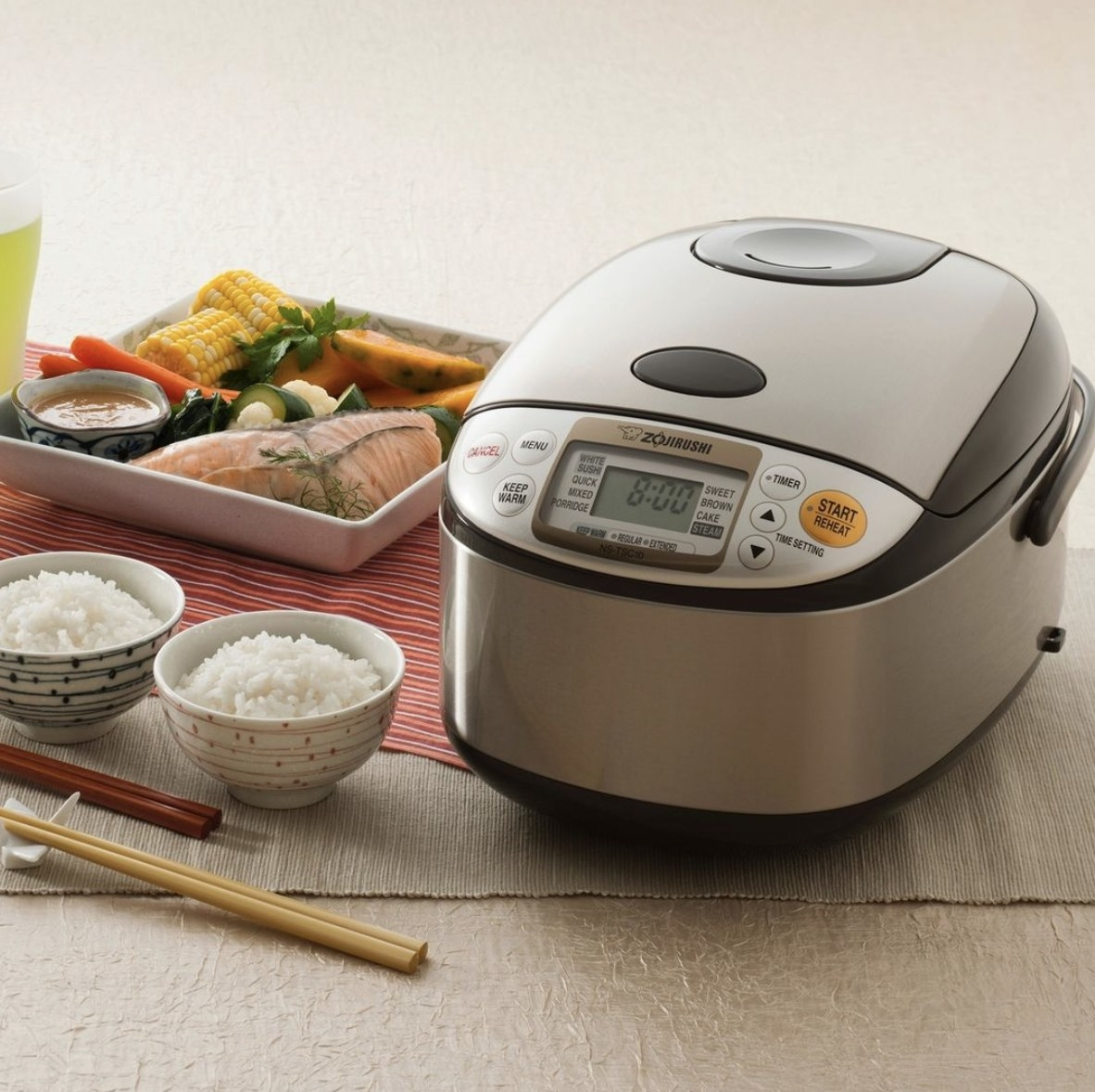 The rice cooker