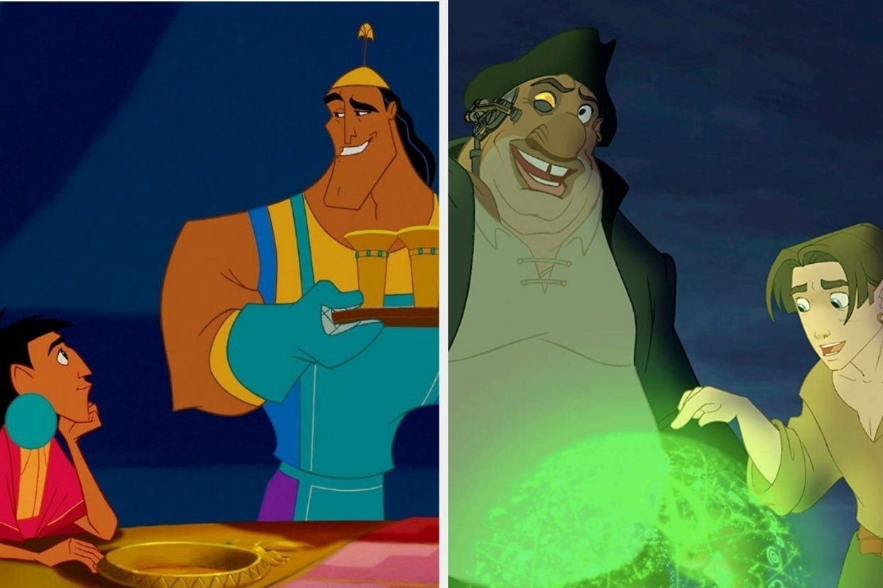 """""""The Emperor's New Groove"""" and """"Treasure Planet"""""""