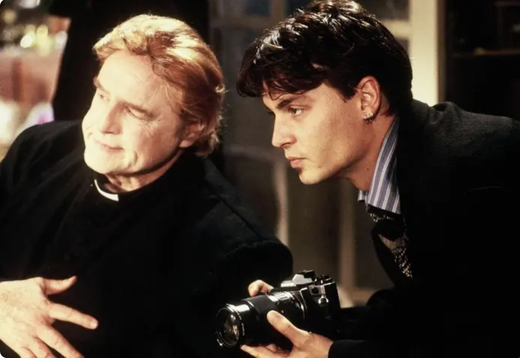 Marlon Brando and Johnny Depp side-by-side in the doomed production