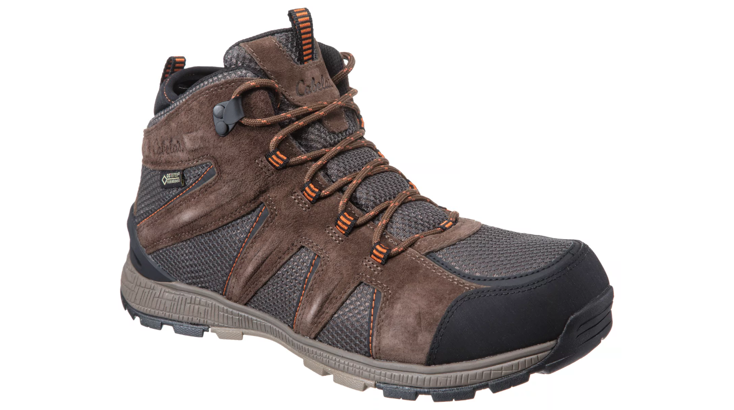 the hiking boots