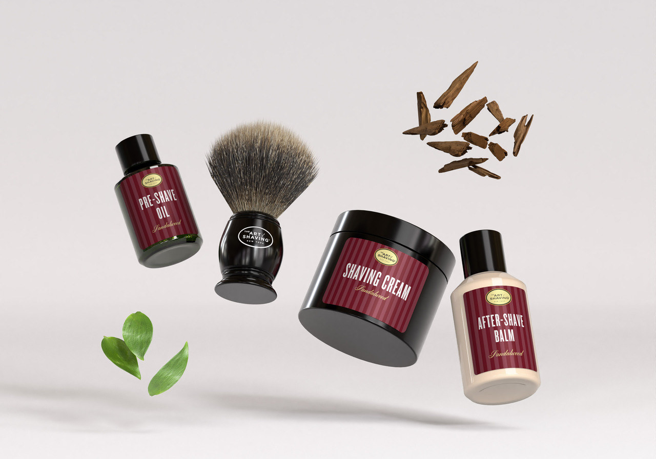 the shaving kit