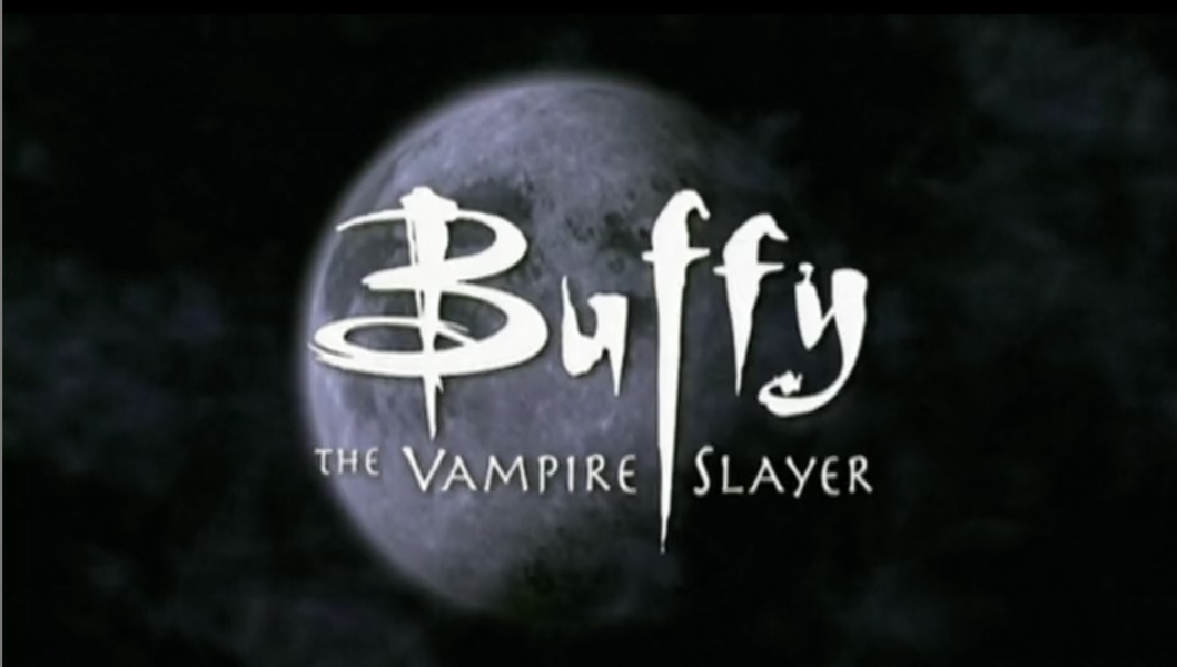 The opening titles for Buffy