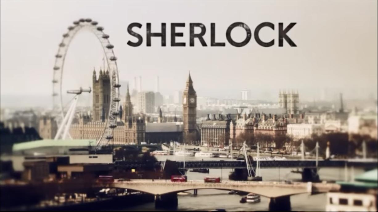 Sherlock opening titles