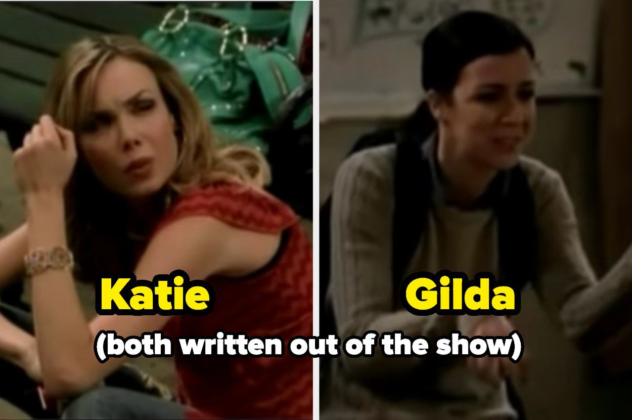 the two female leads who were written out of the show