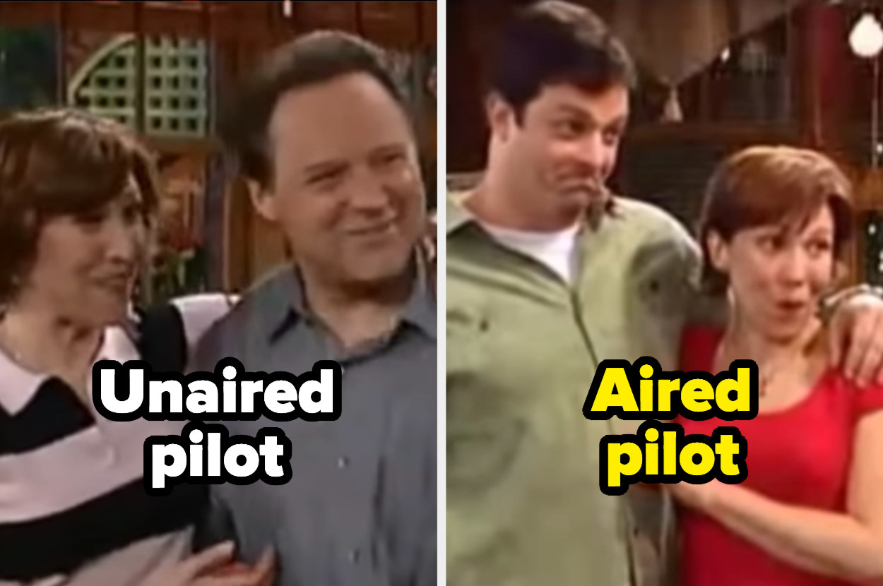 The unaired parents from Drake and Josh vs. the aired parents