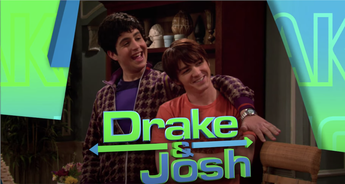 The opening titles of Drake and Josh