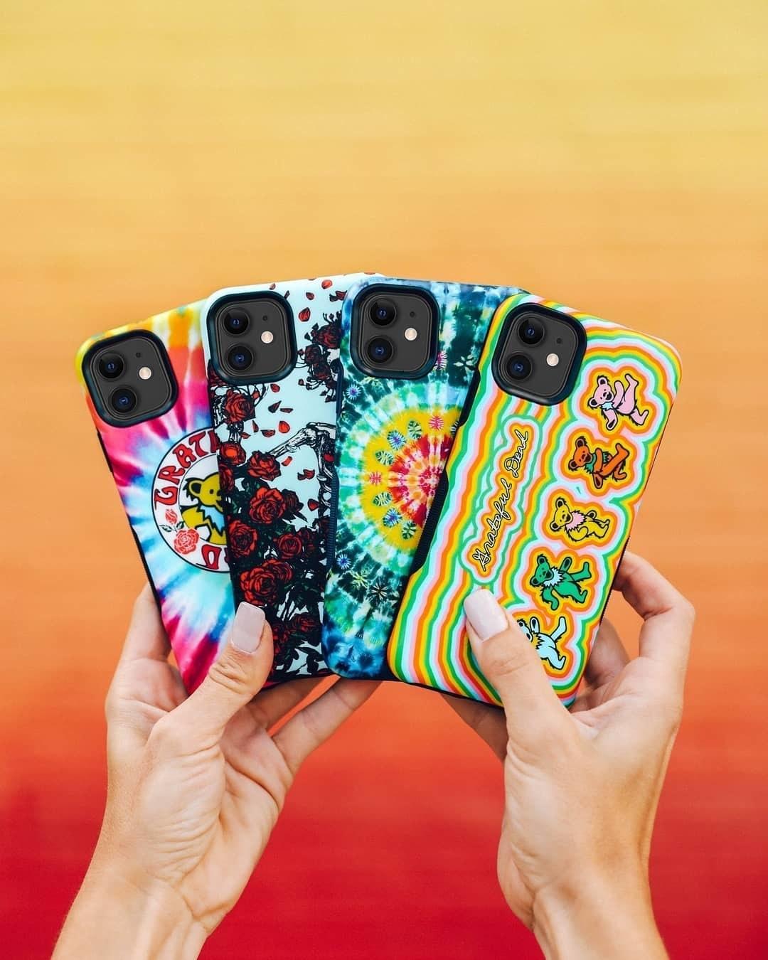 four grateful dead phone cases