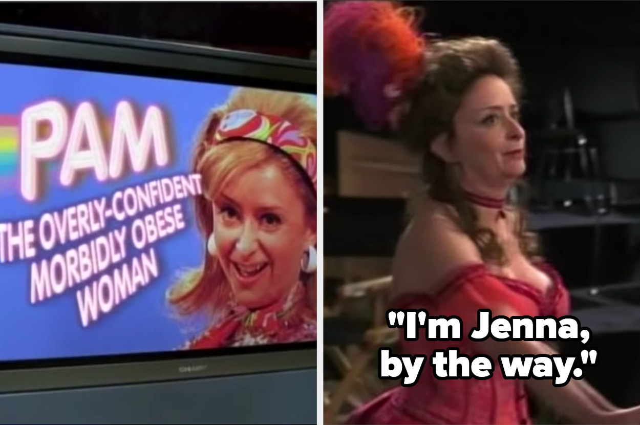 Rachel Dratch as Jenna in the unaired pilot