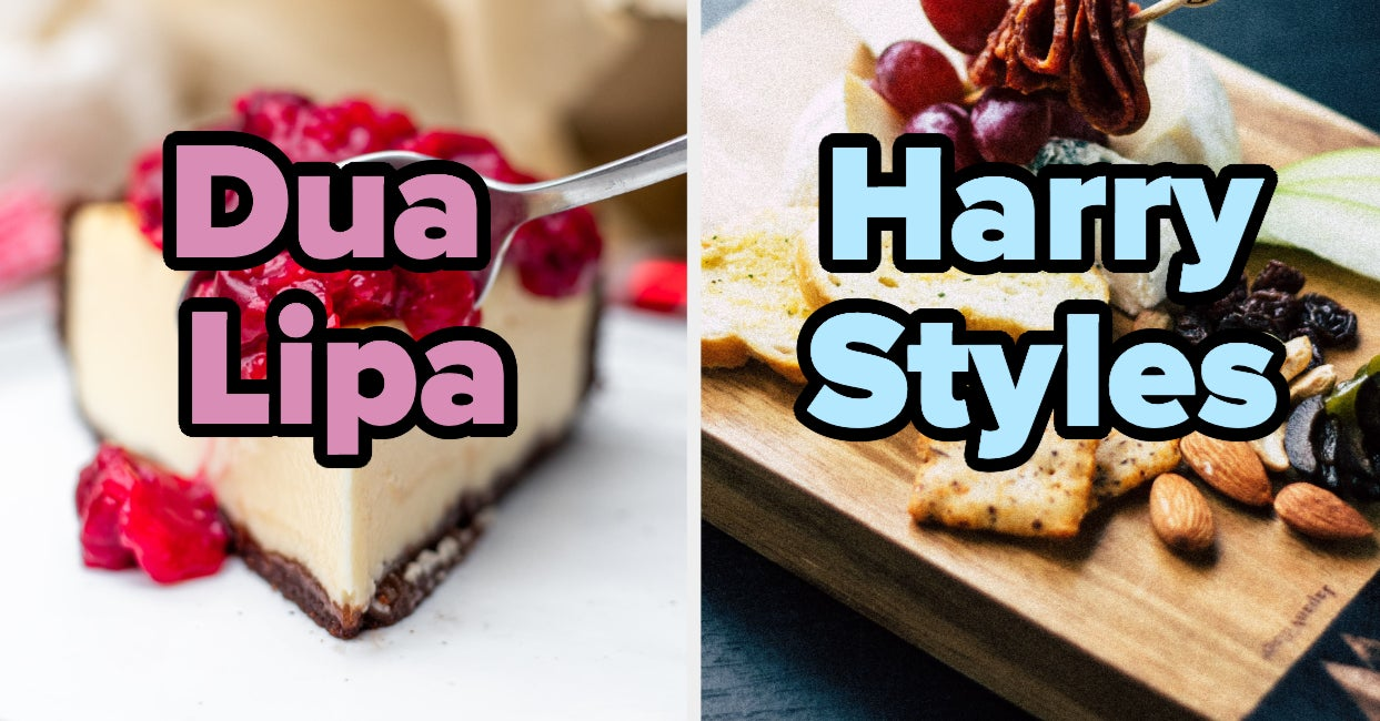 Choose Your Favorite Foods And We'll Tell You Which Singer Matches Your Personality