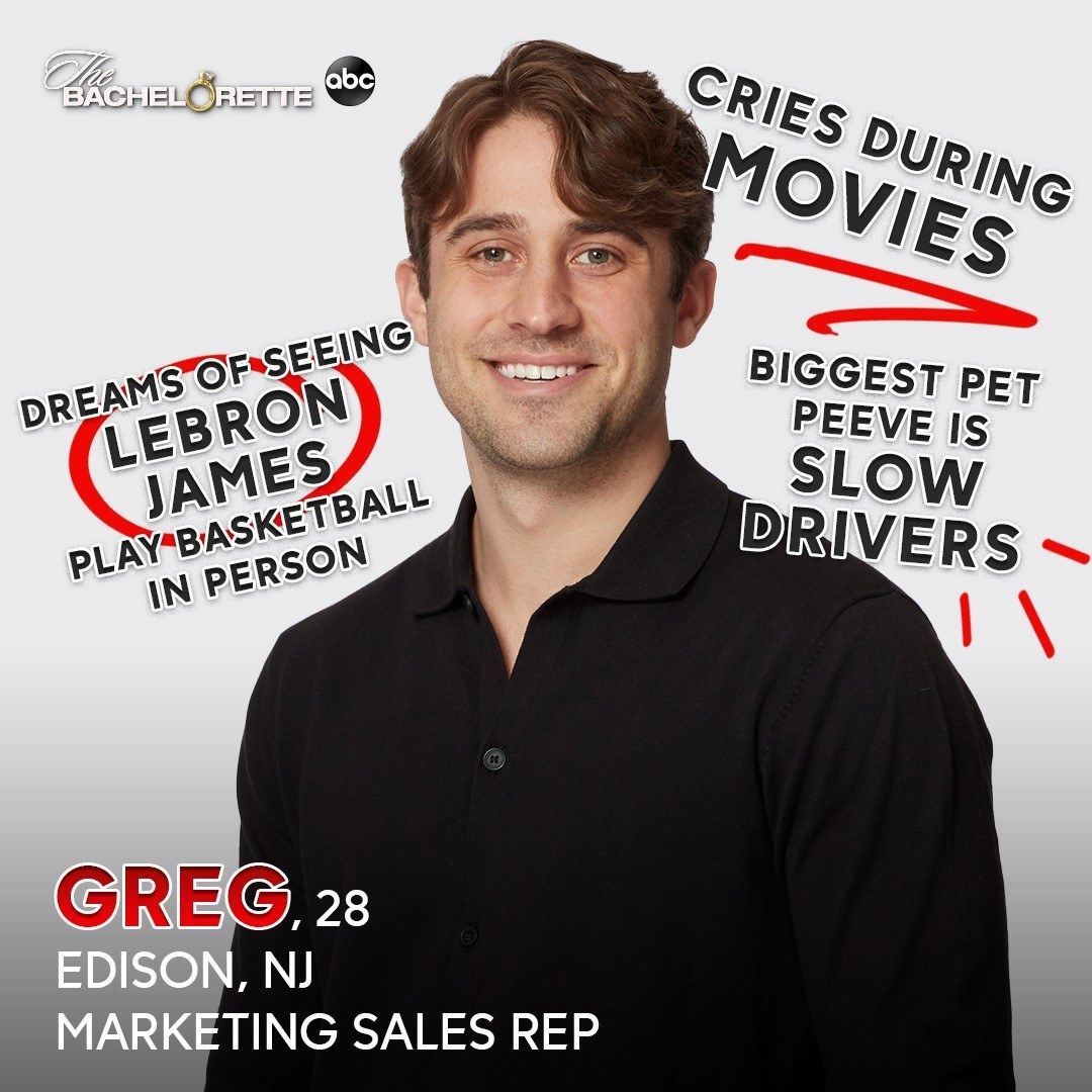 A marketing sales rep who dreams of seeing Lebron James play basketball in person and who cries during movies