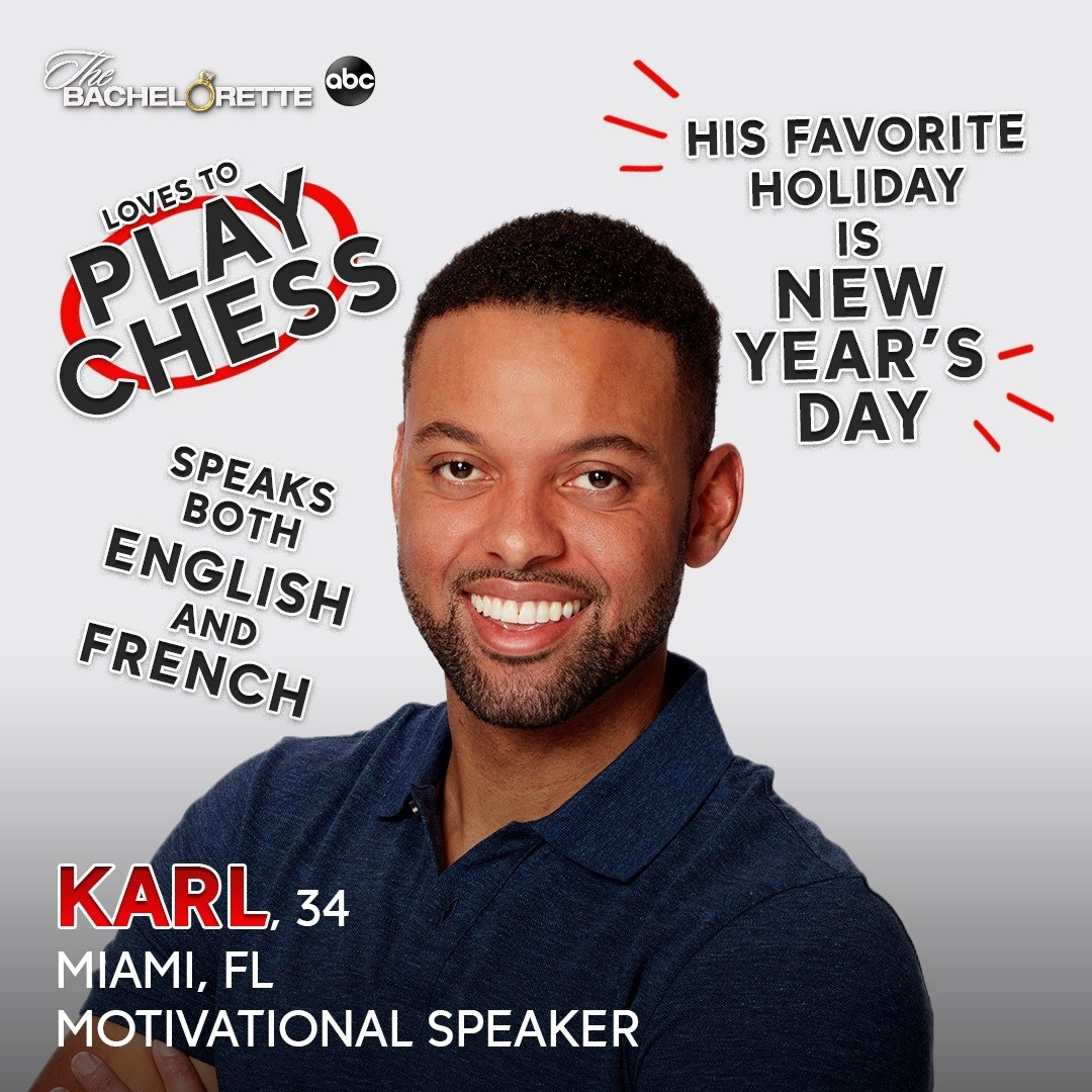 A motivational speaker who loves to play chess and who speaks both English and French