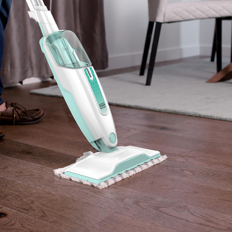 the steam mop on hardwood floors