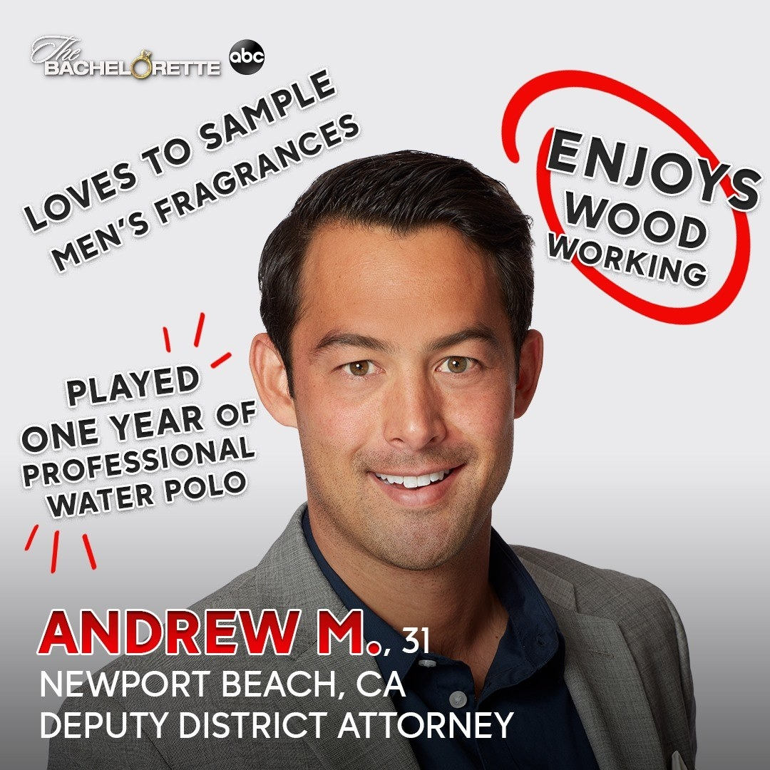 A deputy district attorney who played one year of professional water polo and enjoys word working