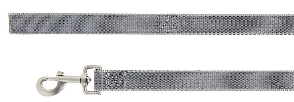 Grey reflective leash