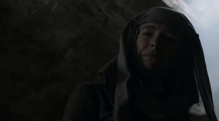 """hannah waddingham as unella in """"game of thrones"""""""