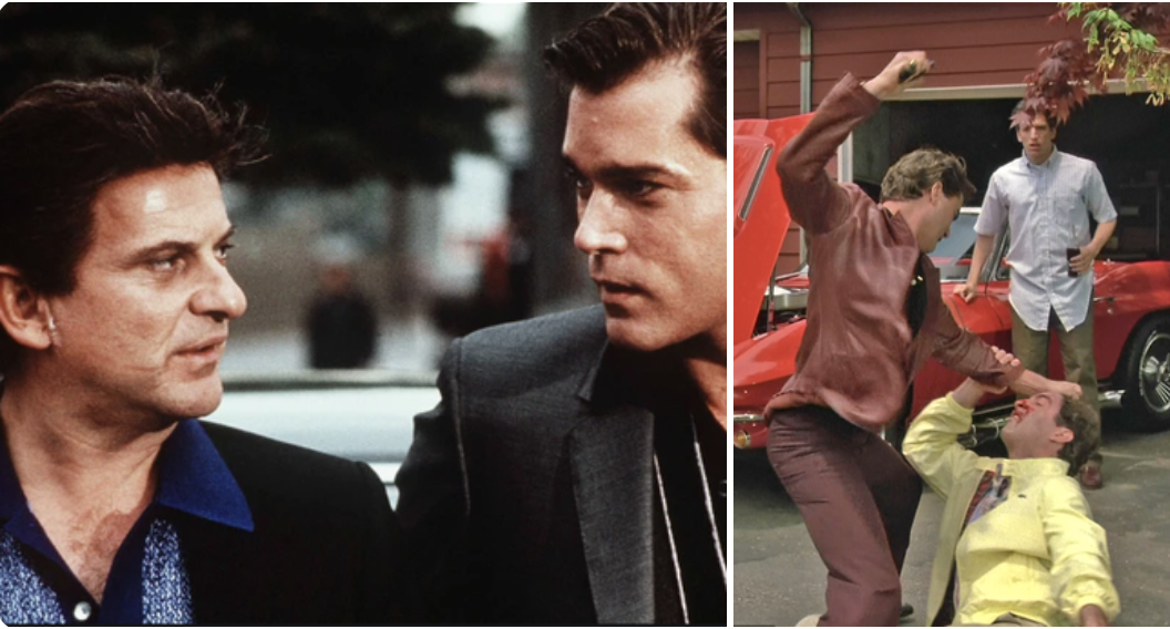 Ray Liotta and Joe Pesci in the film