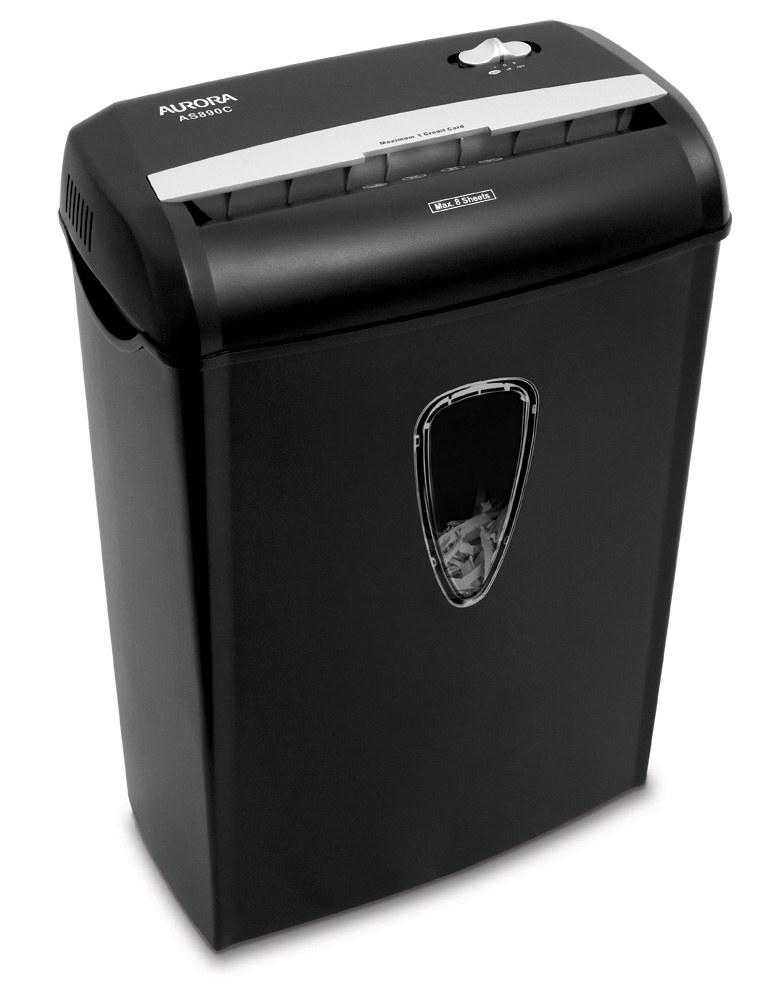 the paper shredder
