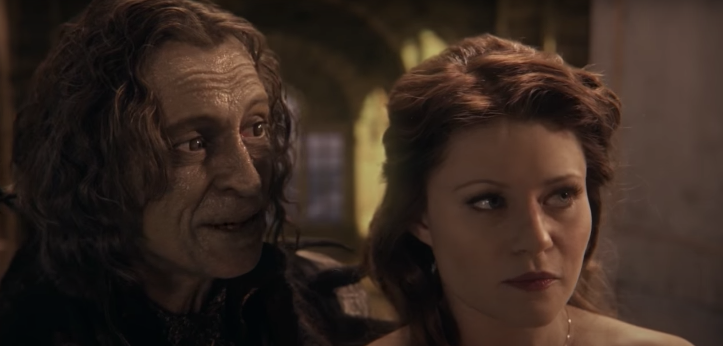 """Belle and Rumple from """"Once Upon a Time"""""""