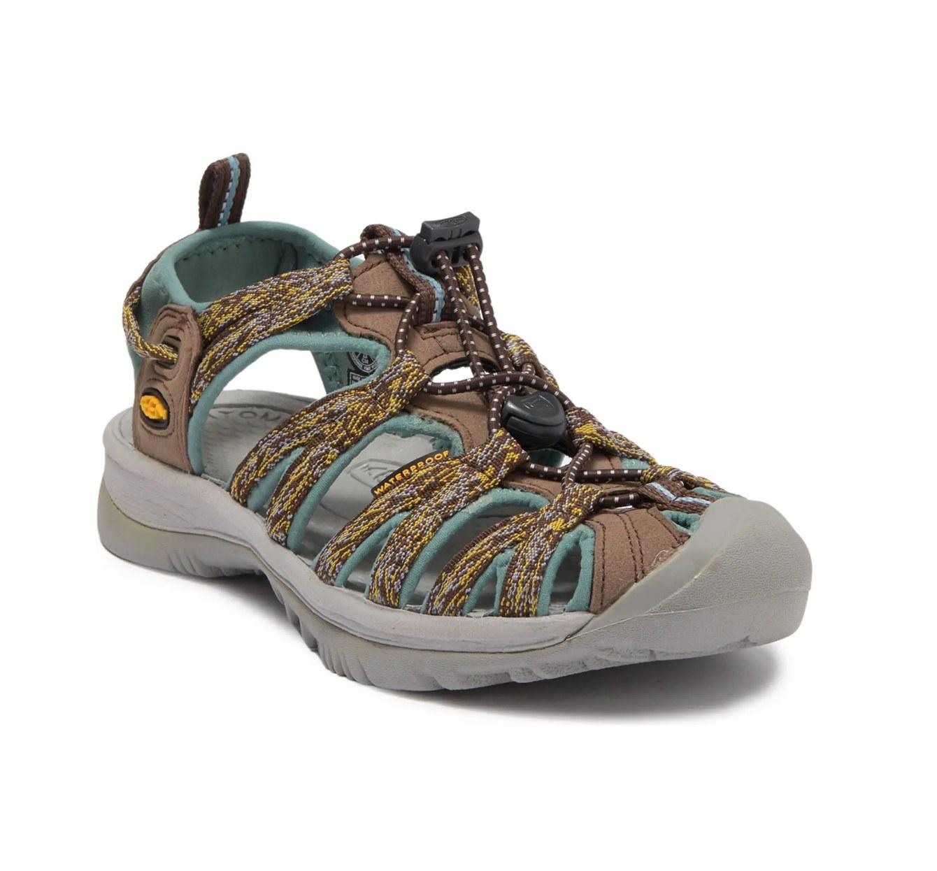 The Keen sandals in cascade