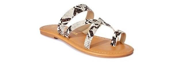 the python sandals